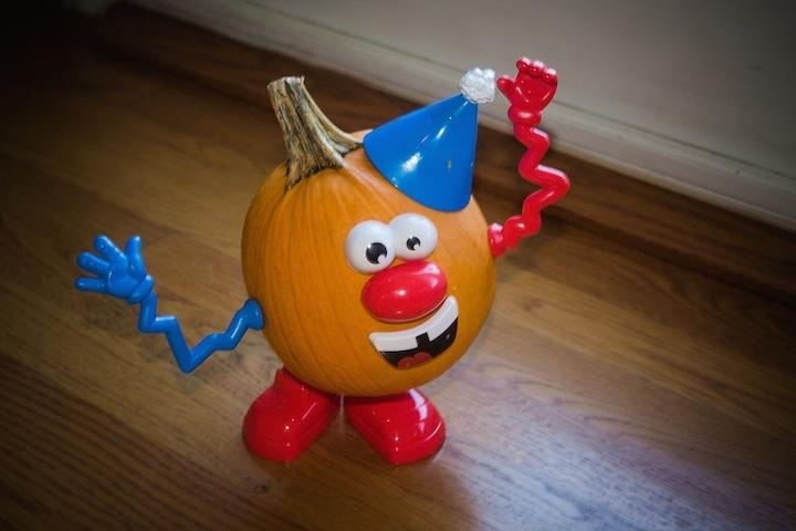 kidlist my potato head pumpkin