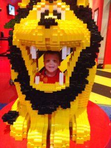 Lego lion fun