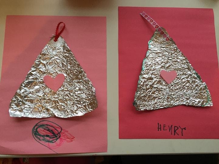 hershey kiss valentine with ribbon kidlist