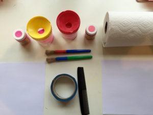 painted heart materials kidlist