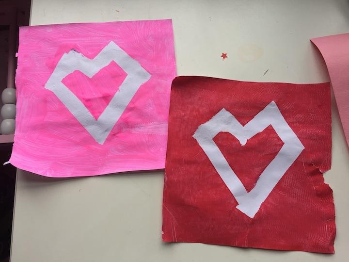 painted hearts kidlist