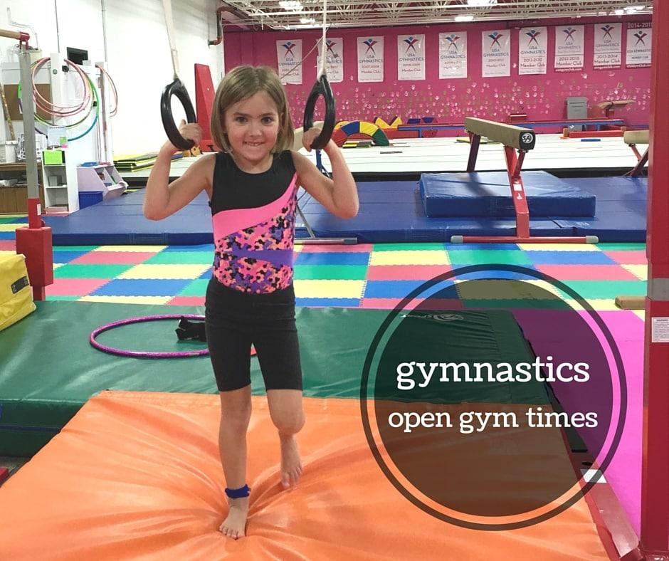 gymnastics open gym