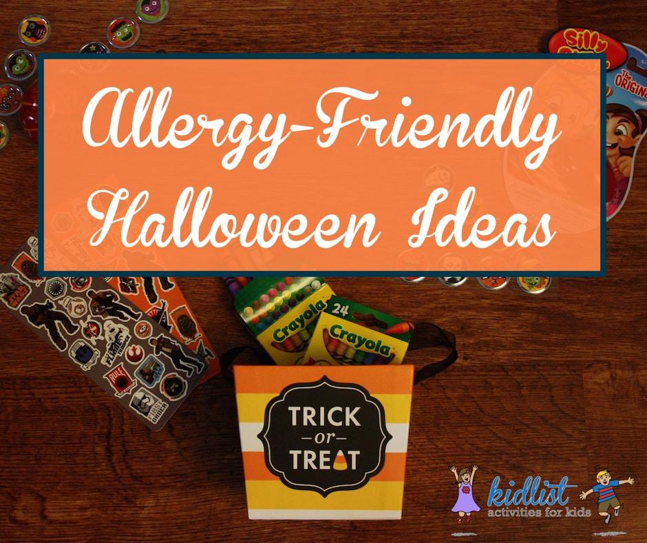 Allergy-friendly Halloween ideas