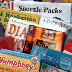 Sick Kids at Home? Sneezle Packs!
