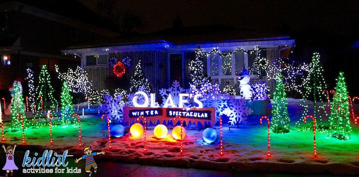 Best Christmas Lights In The Western Suburbs Kidlist