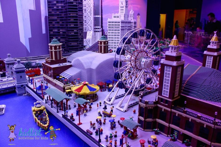 Chicago made of LEGO bricks
